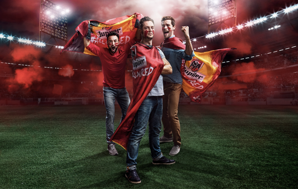 Jupiler All In Red